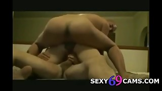 My Wife In DP Threesome With My Best Friend