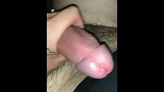 Slut wife gives me a handjob