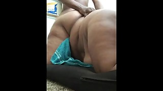 SLUTTY BBW WIFE GINA BUNNY FOLLOWS DADDYS COMMANDS