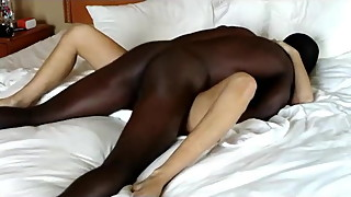 Hot Blonde Gets Blacked