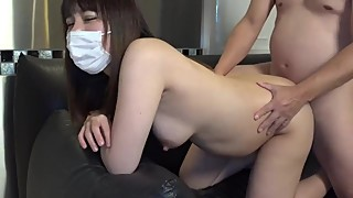 Japanese 6 month pregnant wife cheating with stranger