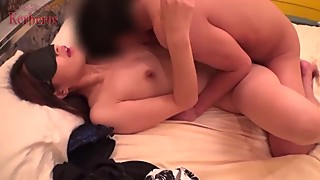 Japanese naughty wife cheating with stranger cock