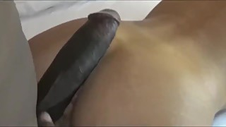 Married busty wife cheating on husband with black monster cock on honeymoon