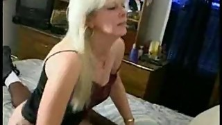 Granny Wife fucks young Black Buck in hotel room