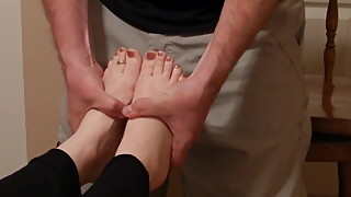 Feet - slide technique for arches