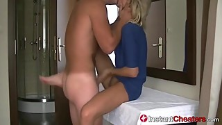 Naughty Slutwife Cheats On Hubby With Her Fuckbuddy