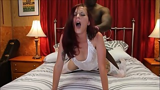 Hot MILF BBC Cheating Wife Bride's Interracial Cuckolding