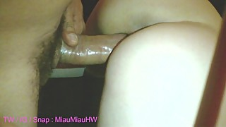 Young mexican hotwife Miau Miau fucks a big cock and cuckold films