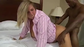 Chubby wife fucked hard long time by bbc