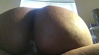 Quick clip of my wife's creamy wet pussy
