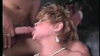 Short Haired Milf Gets 3 Loads Of Cum