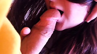 Cheating wife giving blowjob to a stranger HD LeoKleo