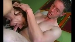 chinese guy and two german fuck white wife