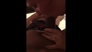 Wife sucking bbc