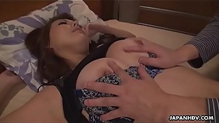 Japanese housewife, Akari Asayiri got fucked in neighbor'_s apartment, uncensored