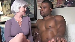 Horny and naughty wife cheating on husband with her first BBC on vacation