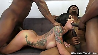 Wife Gets Passed Around By 3 Black Dudes