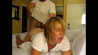 Horny mature wife cheating on husband with her ex