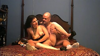 Husband helps wife with her BBC Fantasy Fuck