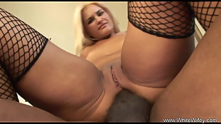 Fucking The Blonde With BBC Tried the Anal Sex Position