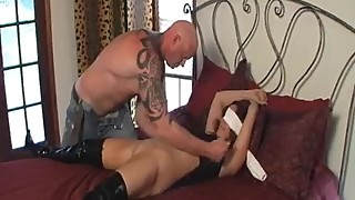 Rachel Steele MILF494 - Cheating wife blindfolded