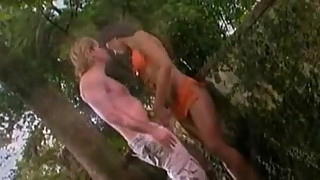 Indian Erotic striptease And interracial outdoor sex