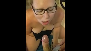 My slut wife, blowjob, cuckold moglie troia italiana