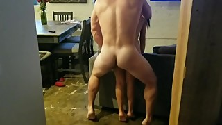 Petit hotwife fucked by a big guy in front of me (stranger #5)