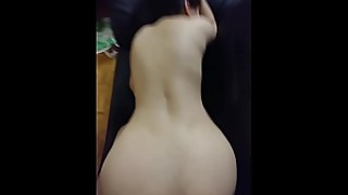 Amateur Pakistani Indian MILF with Big Boobs Fucking With Dewar on Couch Screaming Like Whore