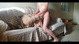 Arab wife in Hijab fucked by friend