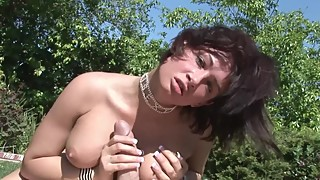Big Tit Cheating Wife Tory Lane Swallows Gardeners Cum