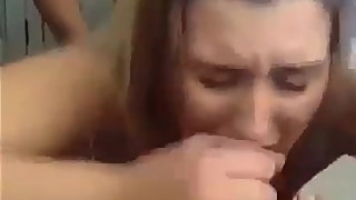 Wife getting gang banged with friend