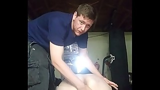 Spanking my slut sister in law, her husband at work so I tell him threw the camera what she likes