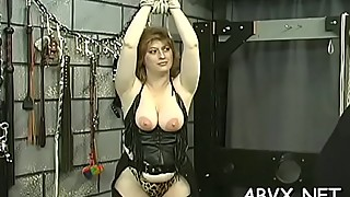 Bare wife extraordinary home porn in rough bondage amateur scenes