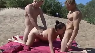 shared my wife on nudist beach with stranger