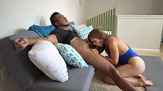 Slutty Wife Seduces Trainer