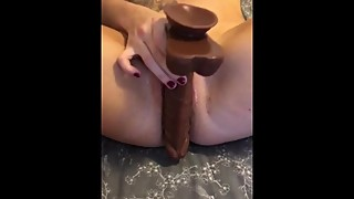 Bbc dildo wife