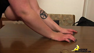 Stranger doing redhead slut wife