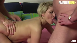 AmateurEuro - Mature German Wife Shared By Husband With His Neighbor
