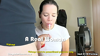 Amateur CumSlut wife adds to her frozen cum collection