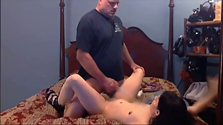 Husband Catches Smoking Slut Wife Fucking a BBC Dildo and Likes It Part 3