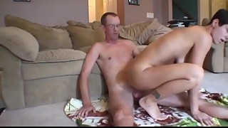 Horny wife cheating on husband with his best friend
