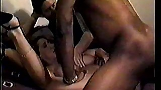Wife Stacey Gets Group Fucked in Front of Husband