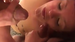 Friends and Strangers cum on my wife (AlleyKatt)