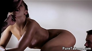 Facialized wife fucked from behind