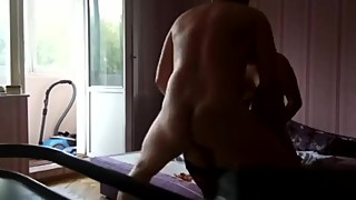 Ukrainian hubby quietly tapes his wife with her new two Russian lovers