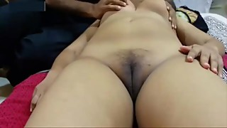 Indian horny milf cheating Wife Romance with Massage Boy and fingering