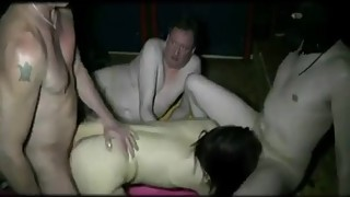 YOUNG WIFE GIVED FOR A GANGBANG WITH STRANGERS from -webcamgirlonline.com