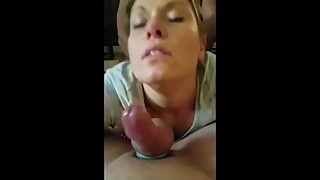 Husband shares his horny wife with his best black friend