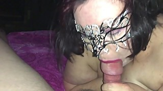 Friends Wife Swallowing His Load After I Fucked Her